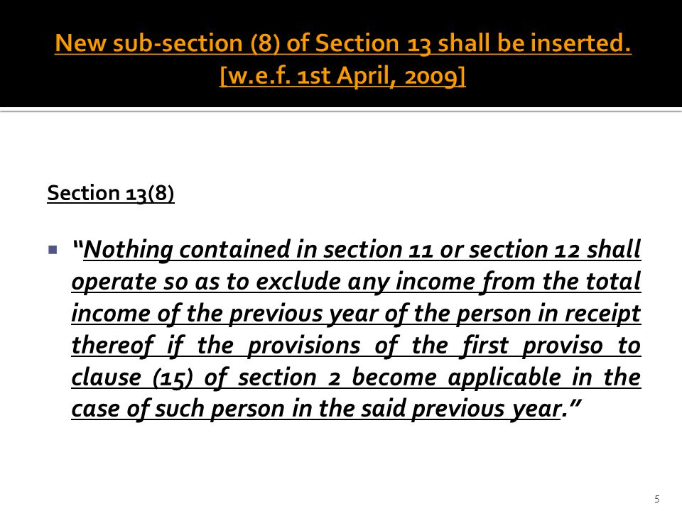 New sub-section (8) of Section 13 shall be inserted. [w. e. f